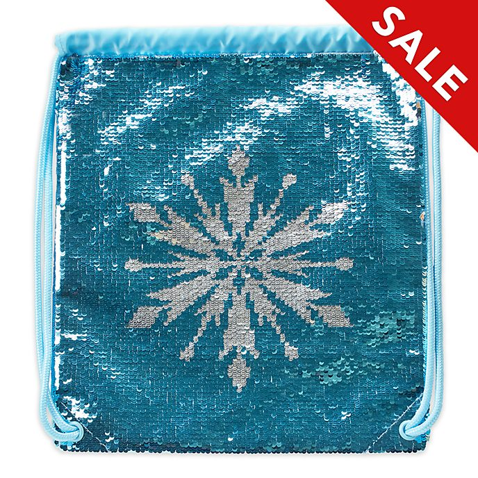 Disney Store Frozen 2 Reversible Sequin Swim Bag