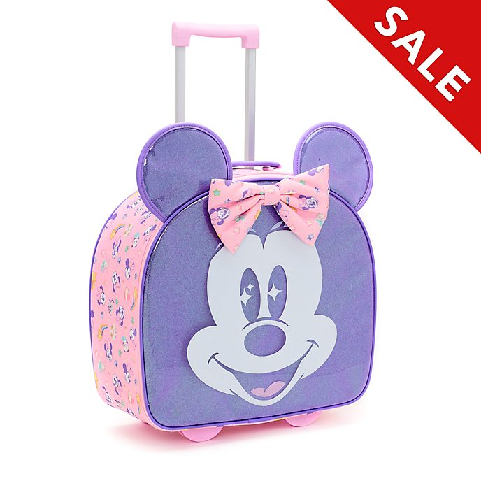 Disney Store Minnie Mouse Mystical Rolling Luggage