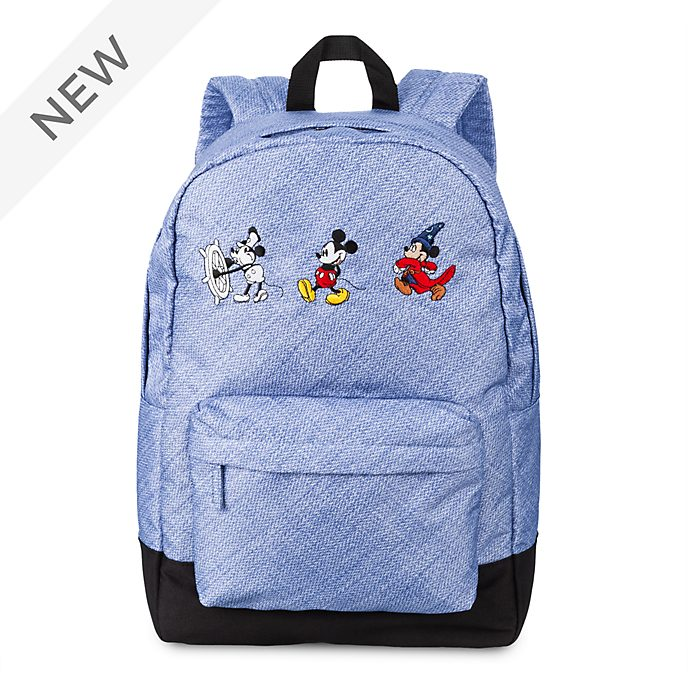 Disney Store Mickey Mouse Through the Ages Backpack