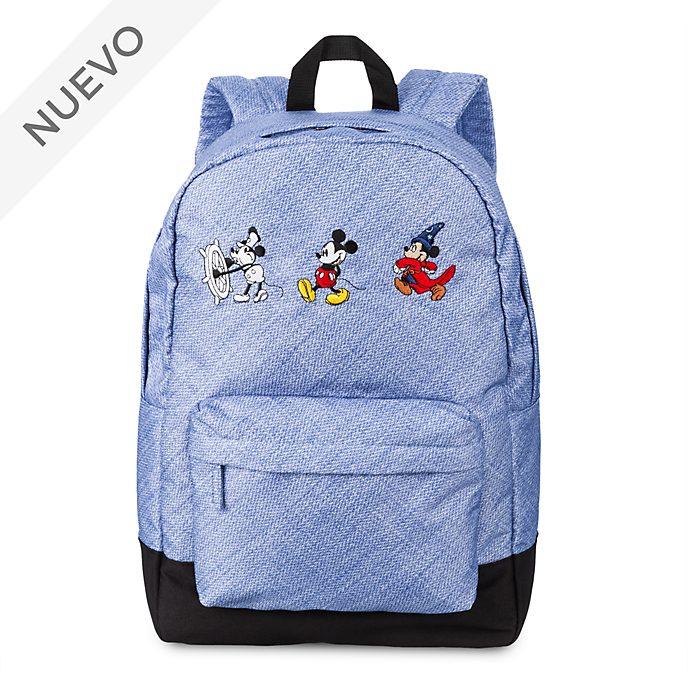 Mochila Mickey Mouse con el paso de los años, Disney Store