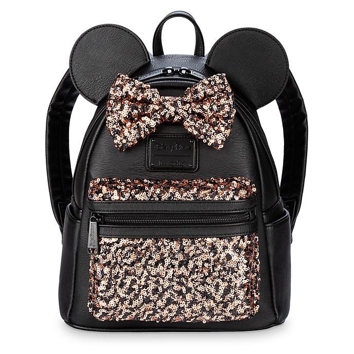 Minimochila lentejuelas Minnie Mouse, Belle of the Ball, Loungfly