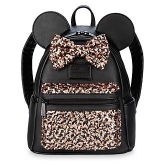 Loungefly Mini sac à dos à sequins Minnie Mouse Belle of the Ball