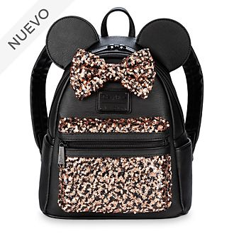 Minimochila lentejuelas Minnie Mouse, Belle of the Ball, Loungfly