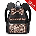 Loungefly - Belle of the Ball - Minnie Maus - Paillettenbesetzter Mini-Rucksack