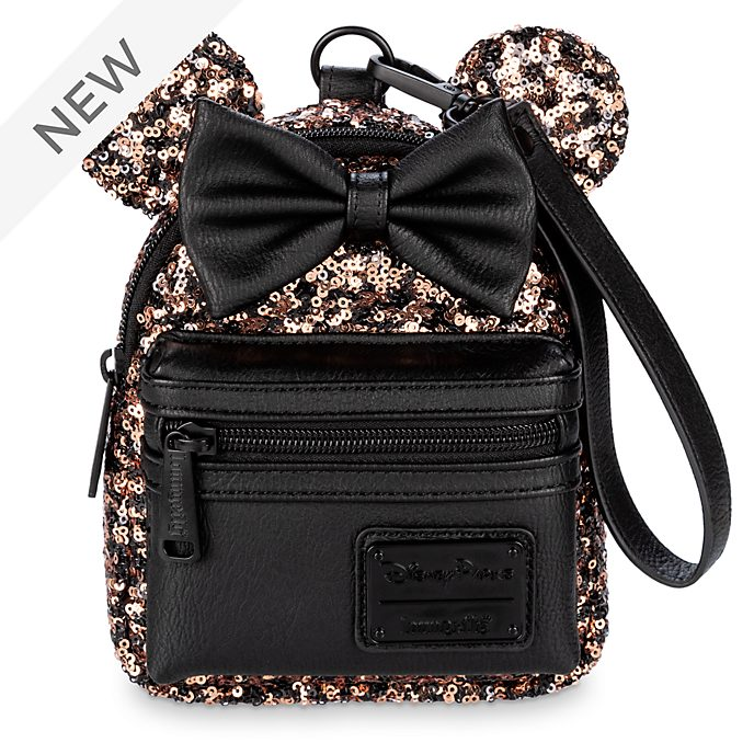 Loungefly Minnie Mouse Belle of the Ball Sequin Mini Bag