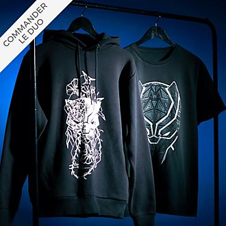Disney Store Collection de vêtements Black Panther pour adultes