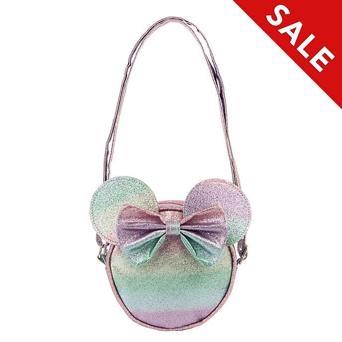 Disney Store Minnie Mouse Glittery Crossbody Bag
