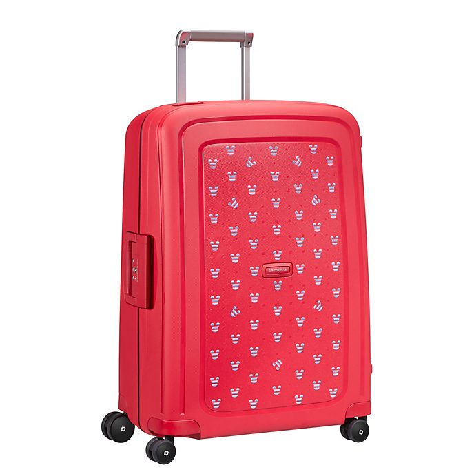 Samsonite Valise à roulettes S'Cure Mickey rouge