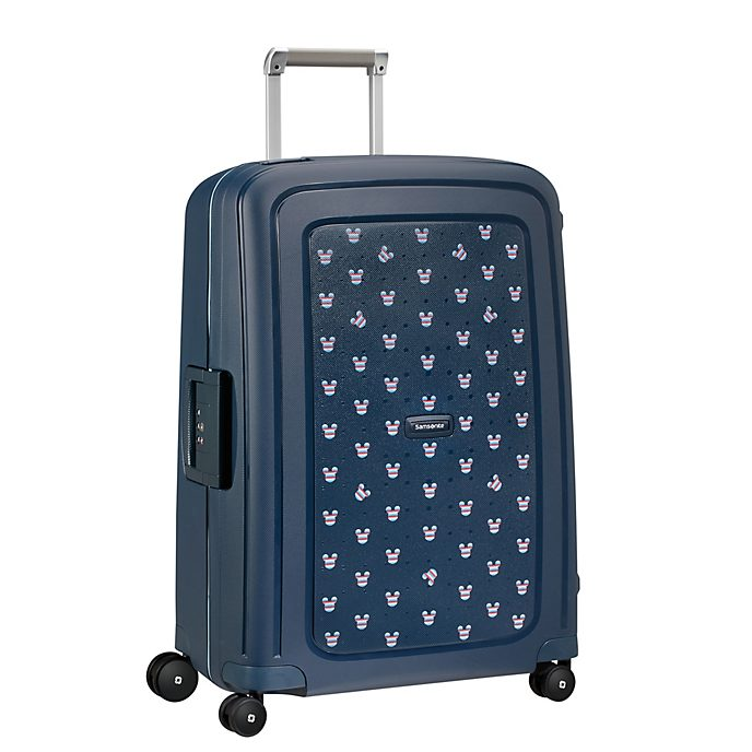 Trolley medio S'Cure blu scuro Topolino Samsonite