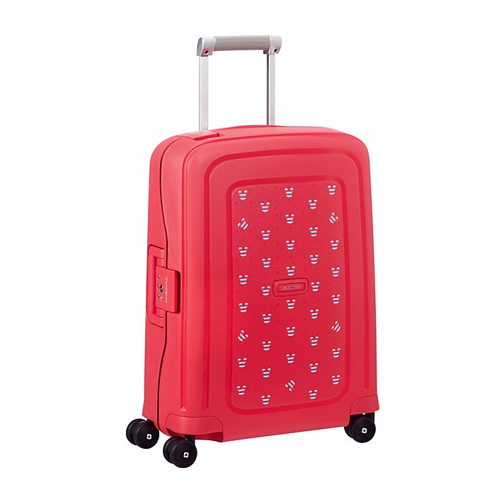 Samsonite Mickey Mouse S'Cure Small Red Rolling Luggage