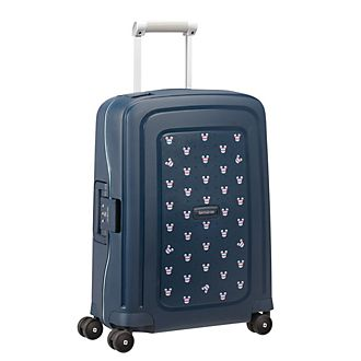 Samsonite Mickey Mouse S'Cure Small Navy Rolling Luggage