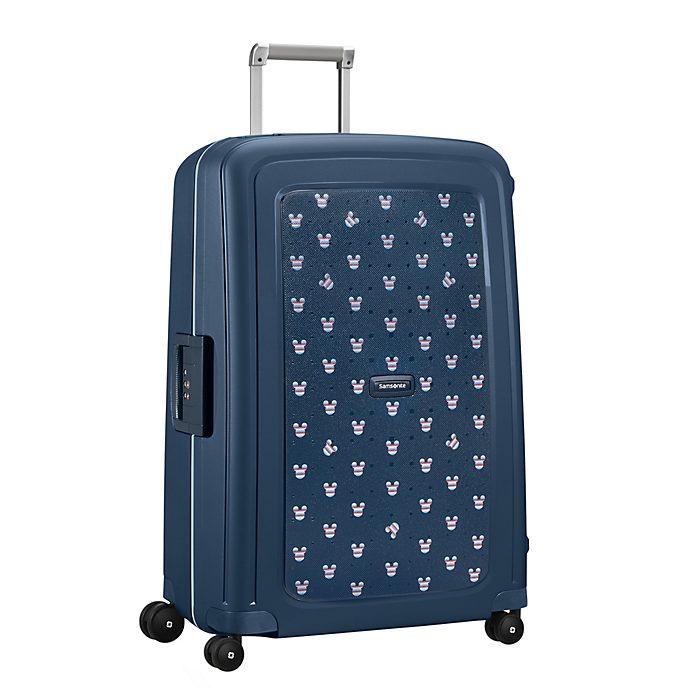 Samsonite Grande valise à roulettes S'Cure Mickey bleu marine