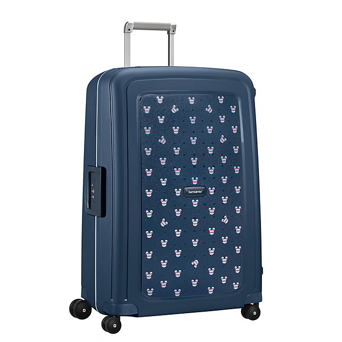 Samsonite Mickey Mouse S'Cure Large Navy Rolling Luggage