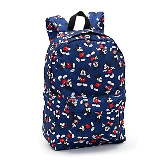 Disney Store Mickey Mouse Print Backpack