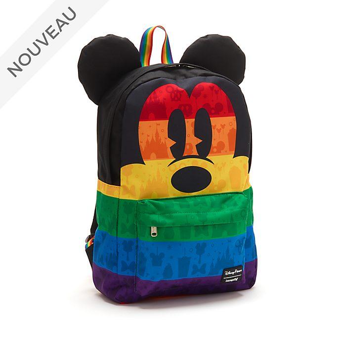 Loungefly Sac à dos Mickey Rainbow Disney
