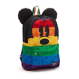 Loungefly - Micky Maus - Rucksack aus der Rainbow Collection