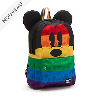 Loungefly Sac à dos Mickey Rainbow Disney