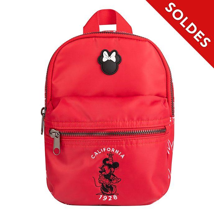 Disney Store Mini sac à dos Minnie rouge et blanc