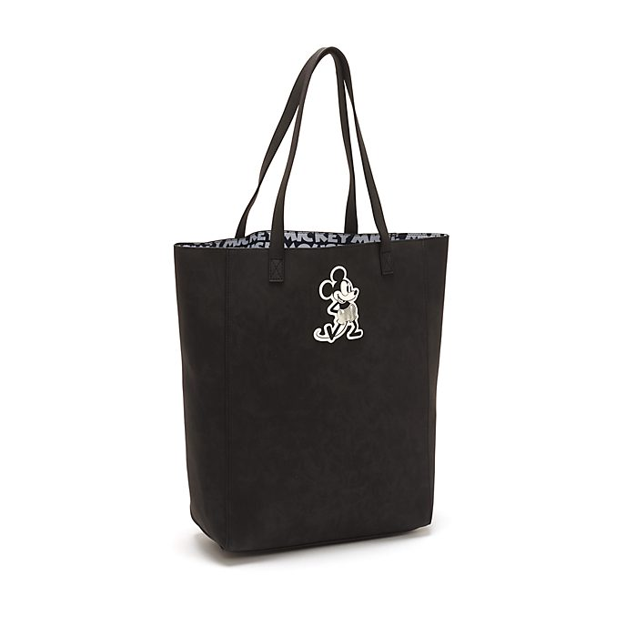 Disney Store Mickey Mouse Greyscale Tote Bag