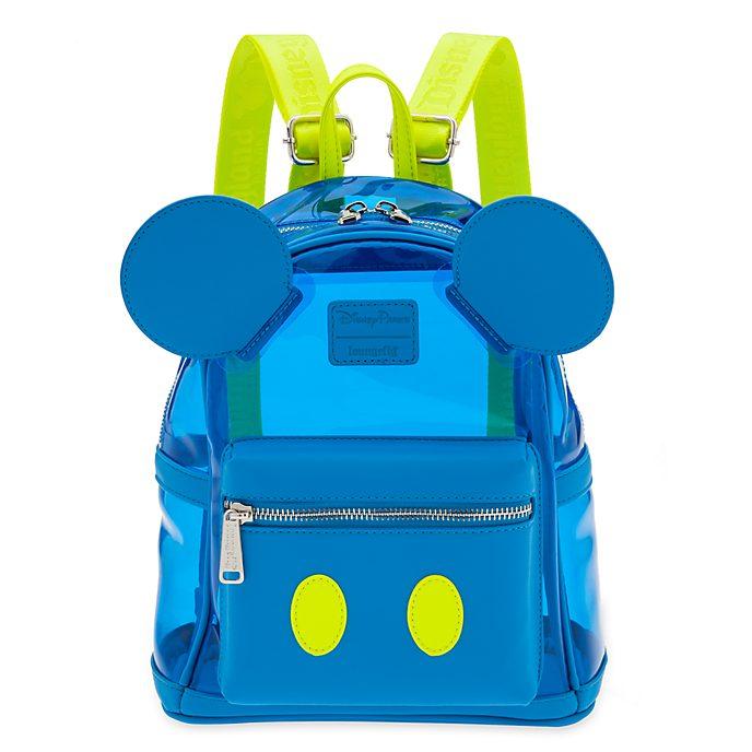 Minimochila Mickey Mouse, Neon Summer, Loungefly