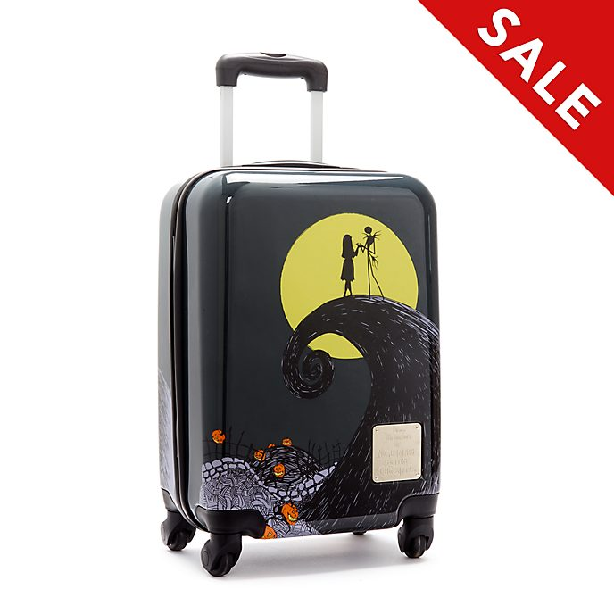 Disney Store The Nightmare Before Christmas Rolling Luggage