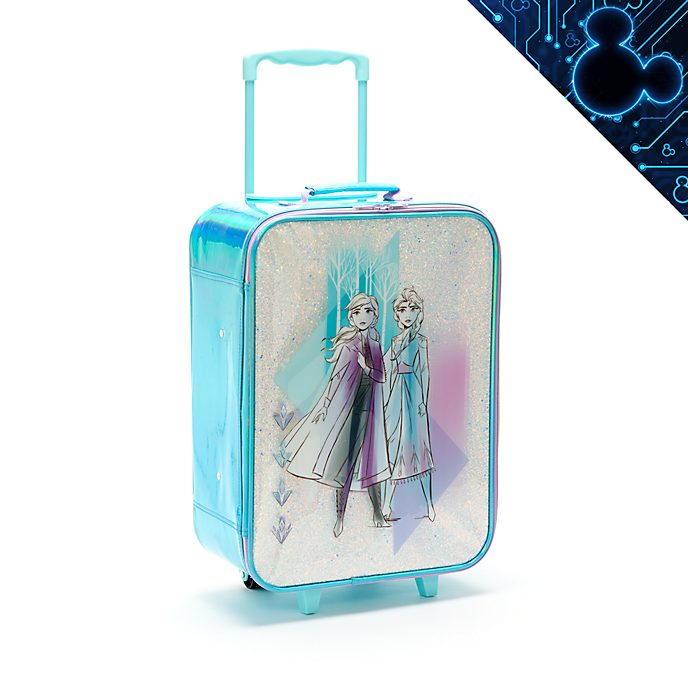 Disney Store Anna and Elsa Rolling Luggage, Frozen 2