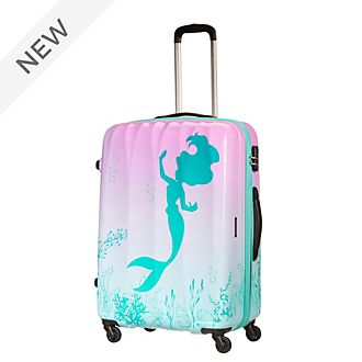 American Tourister The Little Mermaid Large Rolling Luggage