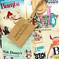 Disney Store - Disney Klassiker - Henkeltasche im Filmposterdesign
