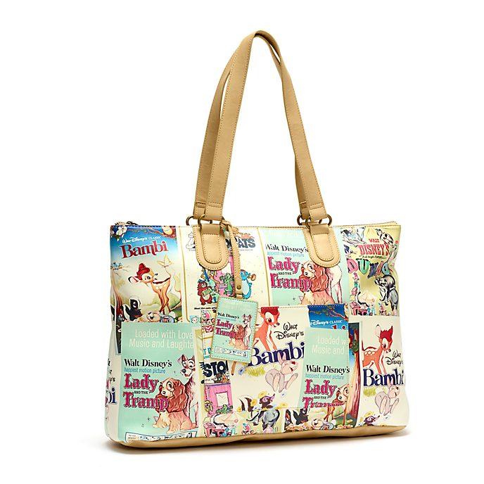 Disney Store Disney Classics Film Posters Tote Bag