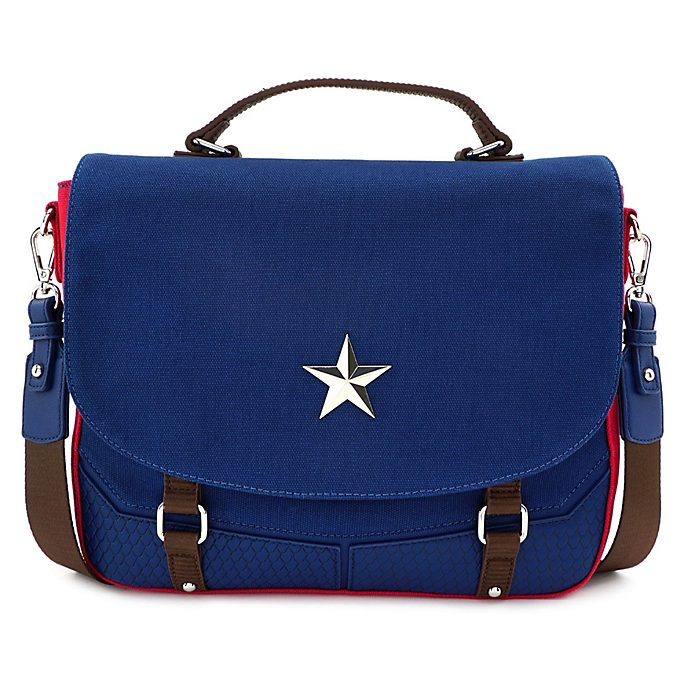 Loungefly Captain America Messenger Bag