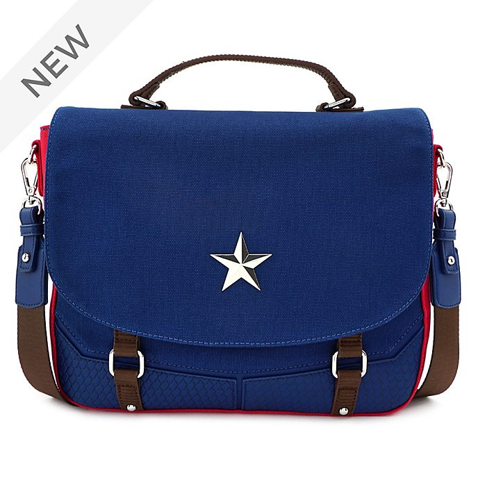 Loungefly Captain America Messenger Bag