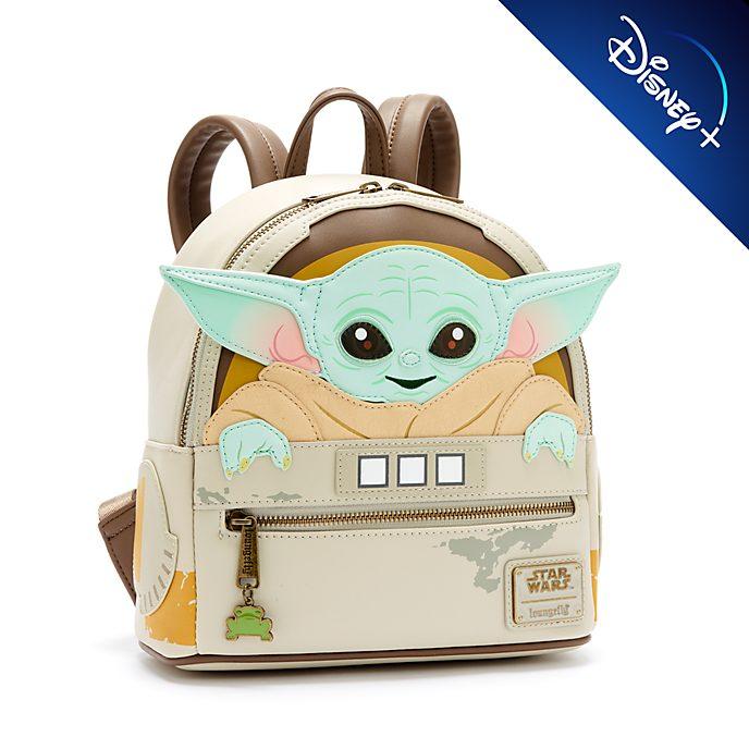 Loungefly Mini sac à dos L'Enfant, The Mandalorian