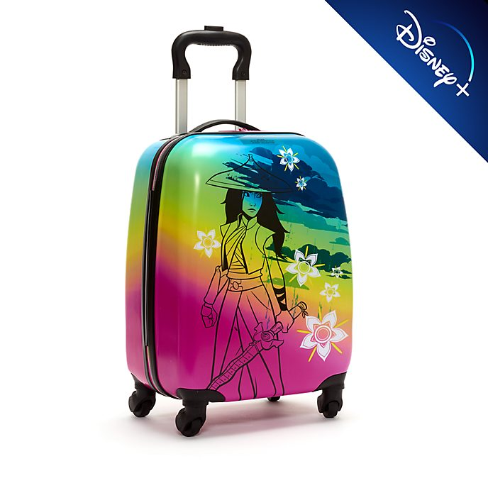 Disney Store Raya and the Last Dragon Rolling Luggage