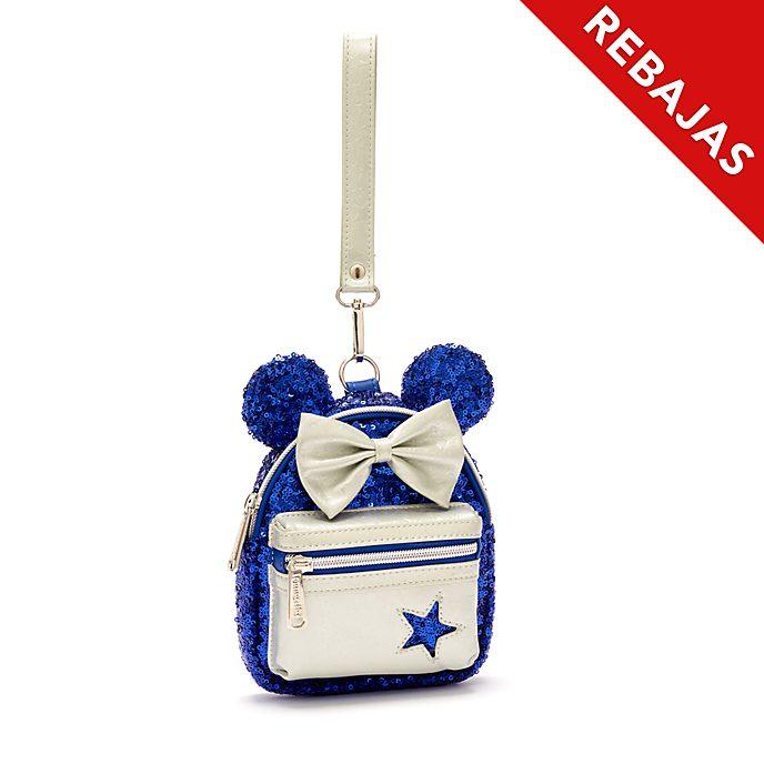 Minimochila de muñeca Minnie Mouse, Wishes Blue, Loungefly