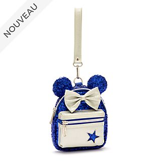 Loungefly Pochette mini sac à dos Minnie Mouse Wishes Blue