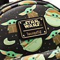 Loungefly - Star Wars: The Mandalorian - Das Kind - Mini-Rucksack mit vollflächigem Druck