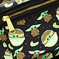 Loungefly The Child All-Over-Print Mini Backpack, Star Wars: The Mandalorian