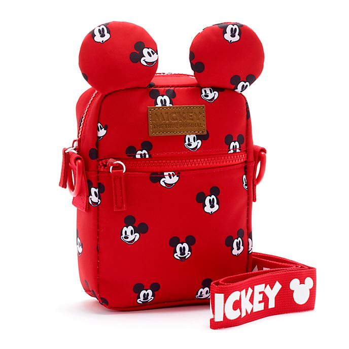 Disney Store Mickey Mouse Red Crossbody Bag
