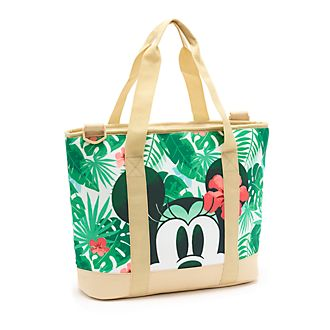 Disney Store Mickey and Minnie Tropical Hideaway Cooler Bag