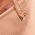 Disney Store Mickey Mouse Rose Golden Tote Bag