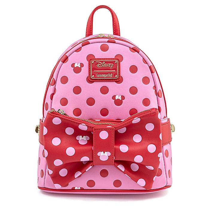 Loungefly Minnie Mouse Polka Dot Mini Backpack
