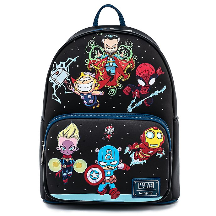 Loungefly Marvel Chibi Group Mini Backpack