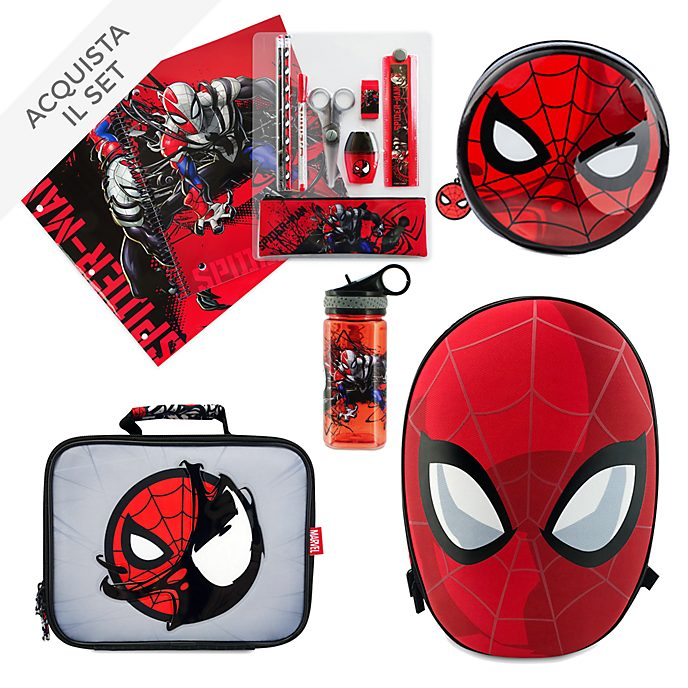 Collezione Back to School Spider-Man Disney Store