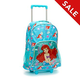 Disney Store The Little Mermaid Wheeled Backpack
