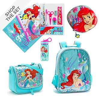 Disney Store The Little Mermaid Back to School Collection