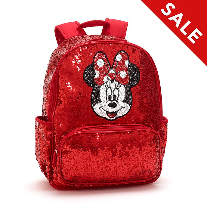 Disney Store Minnie Mouse Sequin Backpack