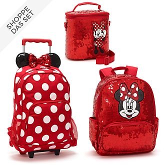Disney Store - Minnie Maus - Back to School-Collection mit Pailletten