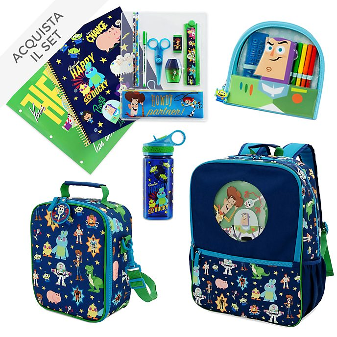Collezione Back to School Toy Story 4 Disney Store