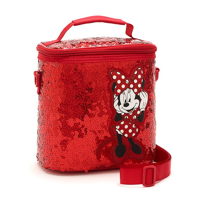 Disney Store Minnie Mouse Sequin Lunch Bag