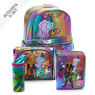 Collezione Back to School Raya e L'ultimo Drago Disney Store